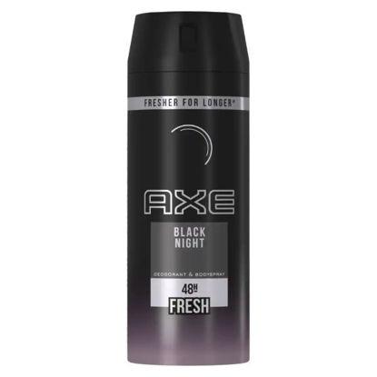 Picture of Axe Black Night Deodorant & Body Spray for Men 150 ml