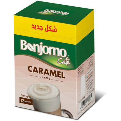 Picture of (Bonjorno Caramel And Latte 2in1 (12 Sachets