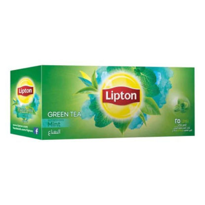 Picture of Lipton Green Tea With Mint 25 Teabags