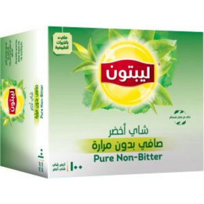 Picture of Lipton Green Tea Non-Bitter 100 Teabags + Mug