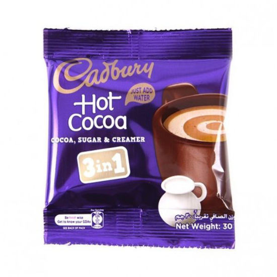Picture of Cadbury chocolate drink 3 in 1 30g