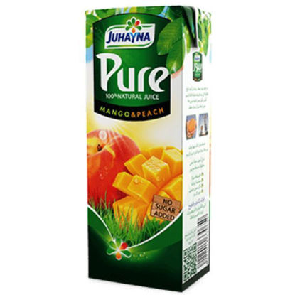 Picture of Juhayna Pure Peach and Mango 1 Liter