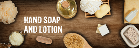 Picture for category Soap and hand lotion