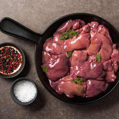 Picture of chicken liver
