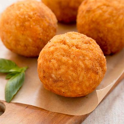 Picture of Eddy's Kitchen arancini mushroom risotto balls (12 pieces)