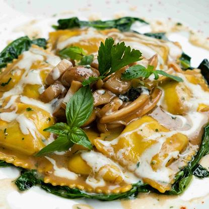 Picture of Eddy's Kitchen ravioli mushroom & ricotta 600 g