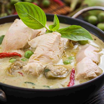الصورة: ايديز كيتشن دجاج الكاري الأخضر التايلاندي 1 كجم