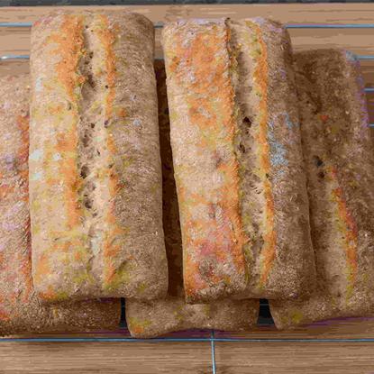 الصورة: ايديز كيتشن خبز شيباتا أبيض