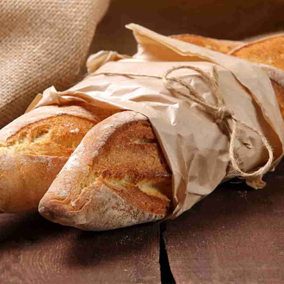 الصورة: ايديز كيتشن نصف خبز باجيت أبيض مخمر