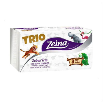 Picture of Zeina 550 Trio Wipes