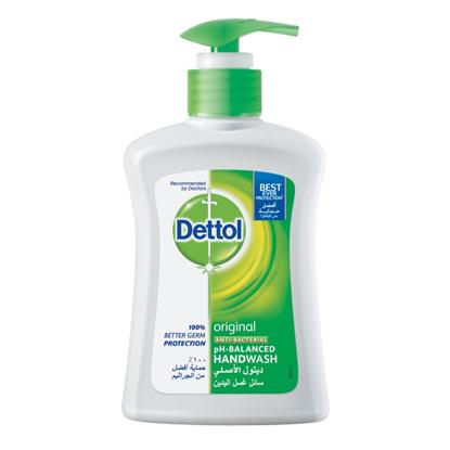 Picture of Dettol Hand Wash Original 200 ml