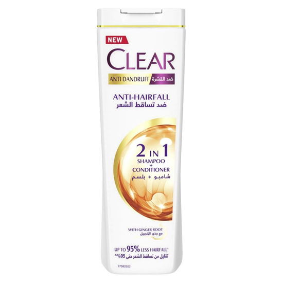 Picture of Clear Shampoo, Conditioner, Softness and Shine 2*1 For Women 180 ml