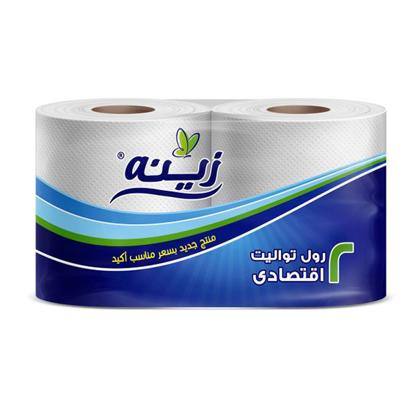 Picture of Zeina Toilet Economy Tissue 2 Rolls