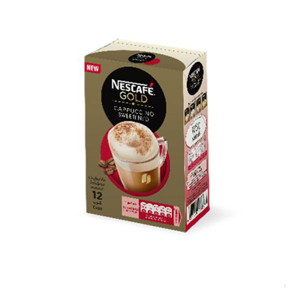 Picture of Nescafe Gold Cappuccino Sweetened - 12 Sachet