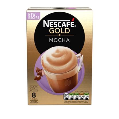 Picture of Nescafe Gold Mocha Cappuccino - 12 Sachets