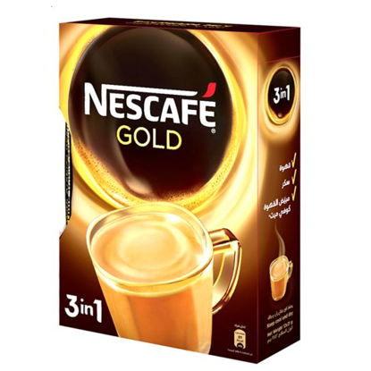 Picture of Nescafe Gold 3In1 - 12 Sachet