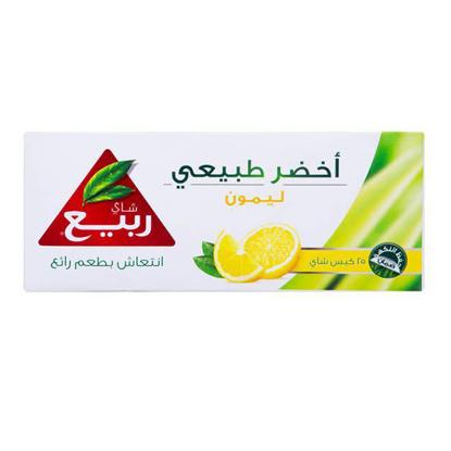 Picture of ٌRabea green lemon tea 25 tea bags