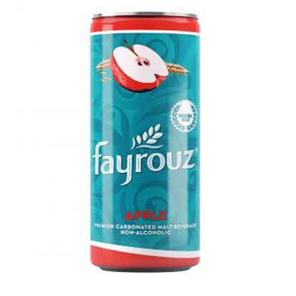 Picture of Fayrouz Apple Malt Drink Cans 250 ml