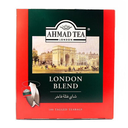 Picture of Ahmad Tea Classic Black 100 Teabags +Free Spoon