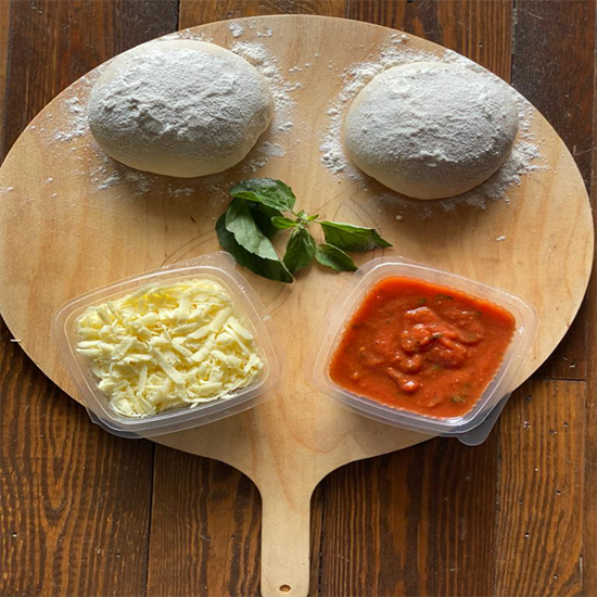 Picture of Margherita pizza ingredients