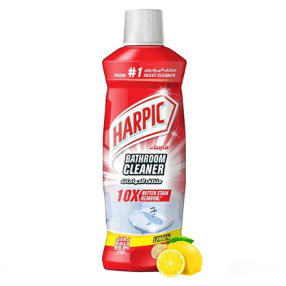 Picture of Harpic bathroom cleaner with lemon scent (500 ml) ..