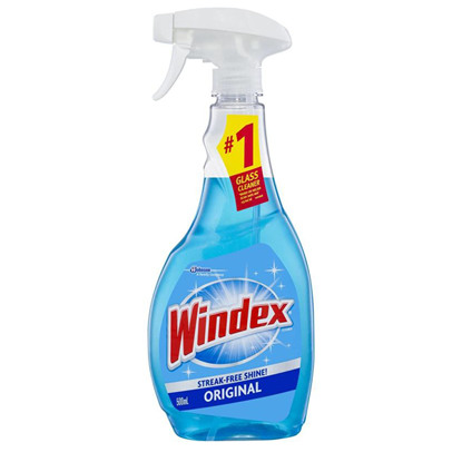 Picture of Windex glass cleaner and disinfectant (500 ml) ..