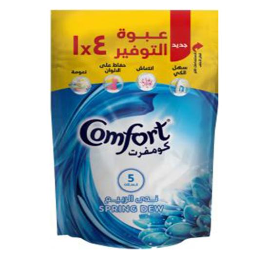 Picture of Comfort spring dew fabric softener (400 ml) ..