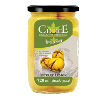 Picture of Choice Olivia Pickled Lemon 720 g ..