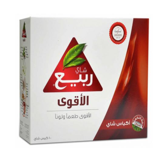 صورة شاى ربيع الأقوى 100 فتلة ..