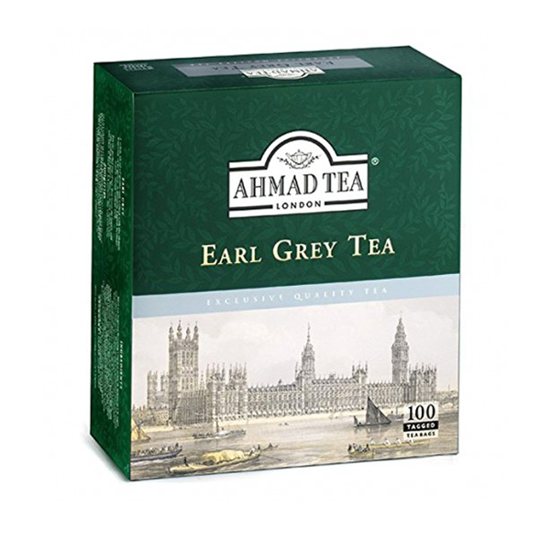 Picture of Ahmed tea - earl grey 100 bags ..