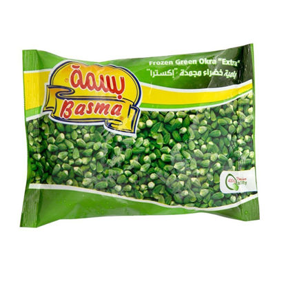 """Picture of Basma - frozen green okra """"extra"""" (400 g) .."""