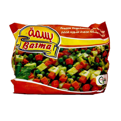 Picture of Basma - frozen vegetables mix for soup (400 g) ..