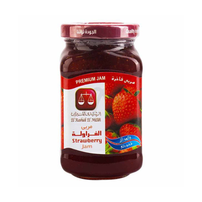Picture of Al-Rashidi jam with strawberry 340 g