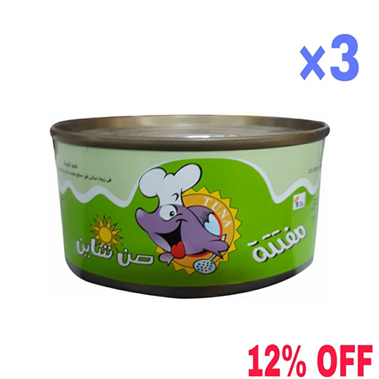 """Picture of """" Sunshine tuna crumbly is easy 185 g × 3 """" 12% DISCOUNT"""