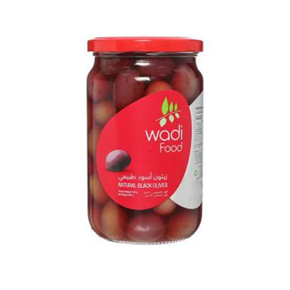 Picture of Wadi Food Black Olives 650g