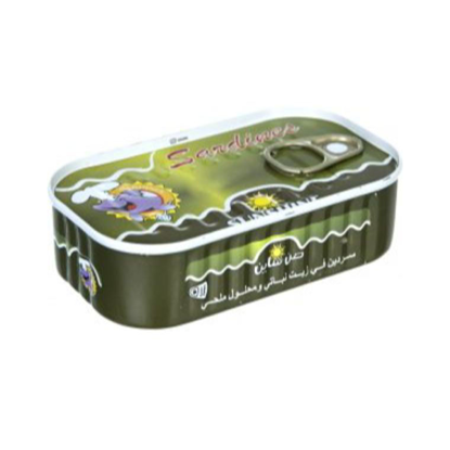Picture of Moroccan Sunshine Sardines are normal 145 g