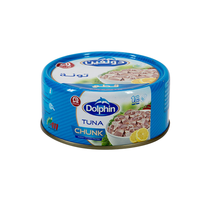 Picture of Dolphin Tuna Chunks Easy Open, 185 gm ..