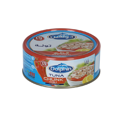 Picture of Dolphin Tuna Chunks Spicy Easy Open, 185 gm ..