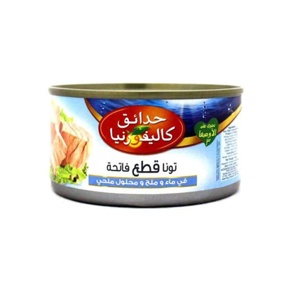 Picture of California Garden Light Chunks Tuna In Water & Salt With Brine- easy open | 185 gm ..