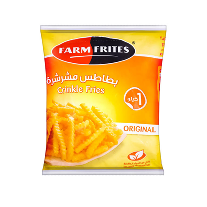 Picture of Farm Frites crinkle fries 1 kg