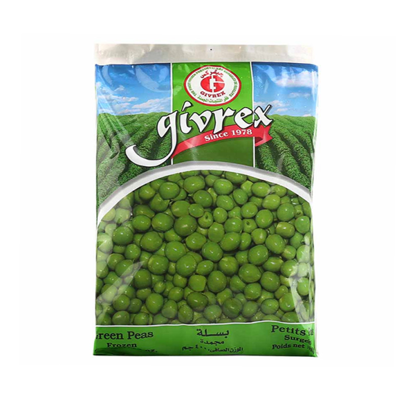 Picture of Givrex green peas 400 gm