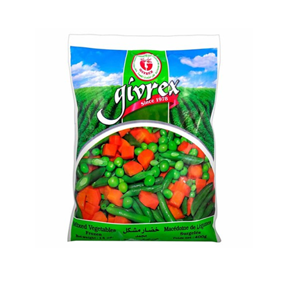 Picture of Givrex Mixed Vegetables 400 gm