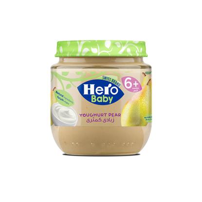 Picture of Herobaby jar of pears and yogurt 125 g
