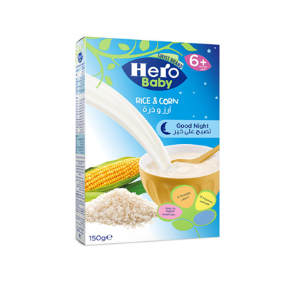 Picture of Herobaby cereal rice and corn 150 g