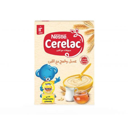 Picture of Nestle Cerelac Honey and Wheat with Milk 250 g