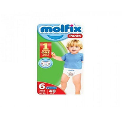 """Picture of """"Molfix Pants Diapers Size 6 X Large """"48 diapers"""