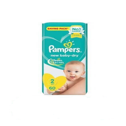 """Picture of """"Pampers Size 2 Mini """"60 diapers"""