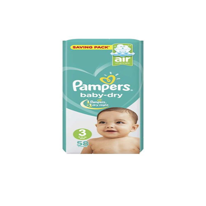 """Picture of """"Pampers jambo Size 3 """"58 diapers"""