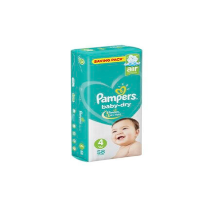 """Picture of """"Pampers Size 4 Maxi """"58 diapers"""