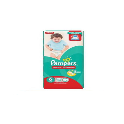 """Picture of """"Pampers Pants Size 6 Extra Large """"48 diapers"""